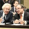 Minister Holthoff-Pförtner und Ministerpräsident Laschet im Bundesrat