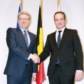 Marc Jan Eumann zu Besuch bei der Deutschsprachigen Gemeinschaft Belgien