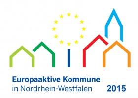 Logo Europaaktive Kommune 2015