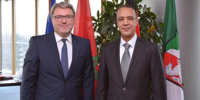Antrittsbesuch des Generalkonsul des Königreichs Marokko, Herrn Jamale Chouaibi