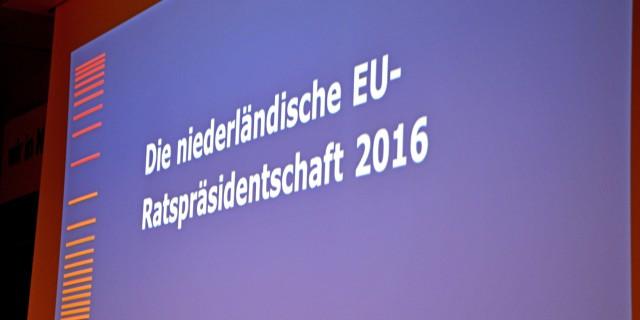 NRW im Gespräch - Niederländische Ratspräsidentschaft