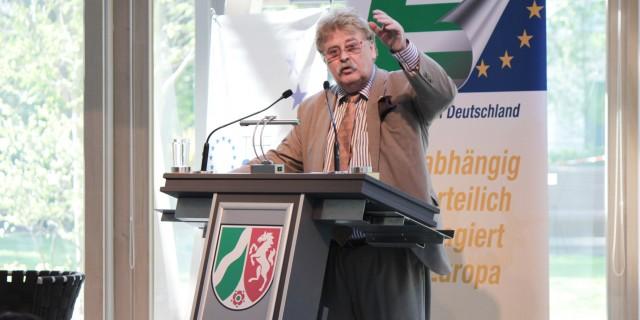 Elmar Brok, UEF, 2018