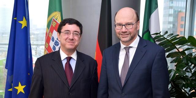 Antrittsbesuch des Generalkonsuls der Republik Portugal beim MCdS 09.02.2016