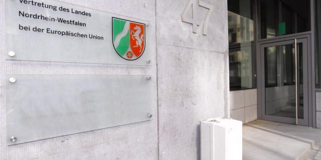 Landesvertretung Brüssel Gebäude aussen