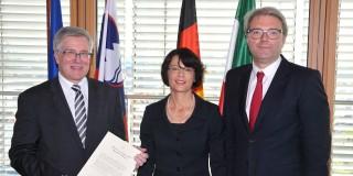 Antrittsbesuch des Honorarkonsuls der Republik Slowenien