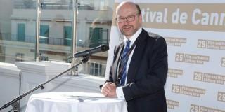Jubiläumsempfang in Cannes Minister Lersch-Mense