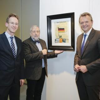 von links: Detlef Seif, Horst Rohde, Martin Dörmann