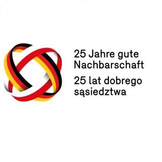 Jubiläumslogo 25 Jahre Deutsch-Polnischer Nachbarschaftsvertrag Titelbild