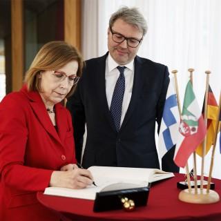 Antrittsbesuch der finnischen Botschafterin