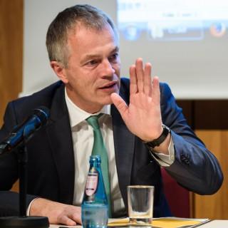 NRW-Umweltminister Johannes Remmel am 20.10.2015