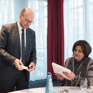 10.02.2017 Antrittsbesuch der Botschafterin der Republik Kolumbien