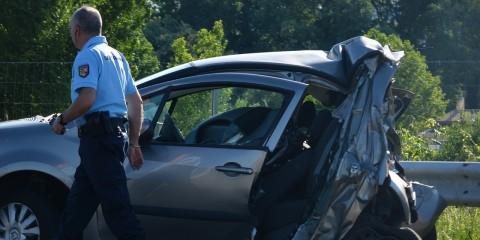 Autounfall Verkehrsunfall