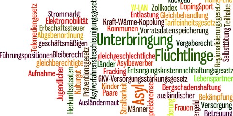 Bundesrat wordcloud 2015