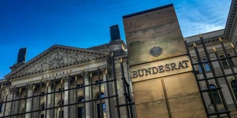 Bundesrat, Gebäude, Abend