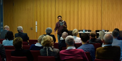 10.10.2016 - Podiumsdiskussion und poetry slam