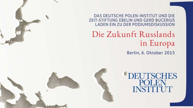 06.10.2015 Deutsches Polen Institut