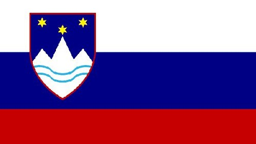Fahne Republik Slowenien