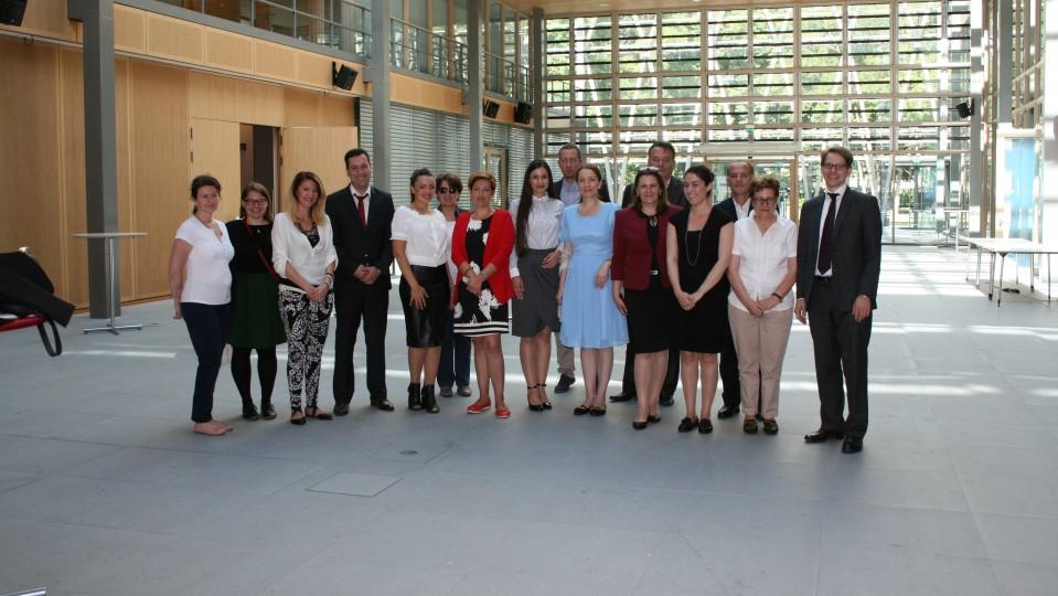 Besuchergruppe Verwaltungsexperten der mazedonischen Regierung
