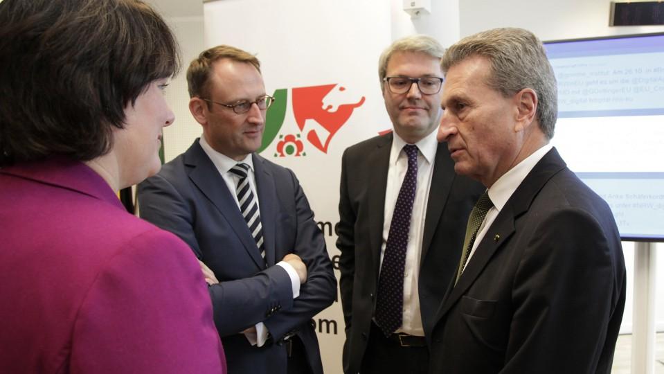 Digitale Gesellschaft NRW.EU Auftakt am 26.10.2015 Bild 1