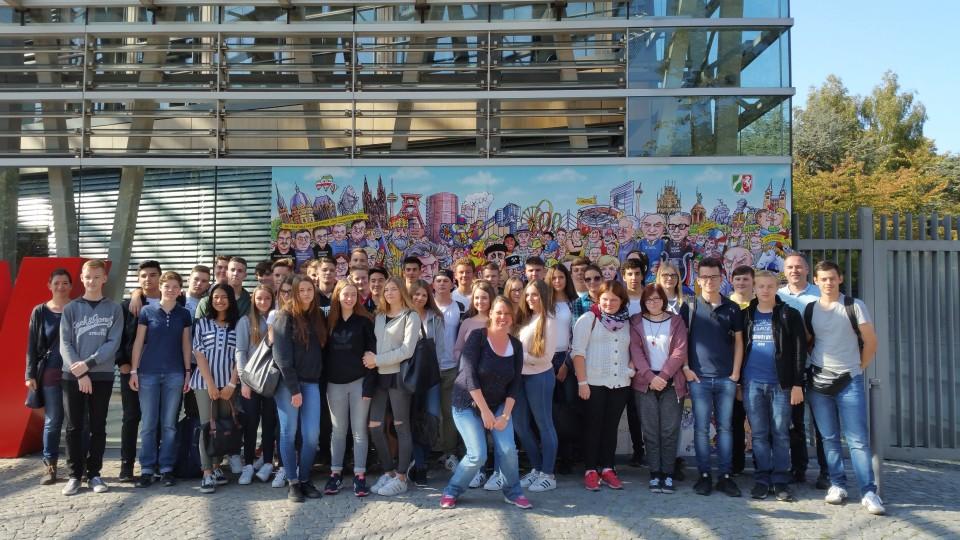 Besuchergruppe Hans-Jonas- Gesamtschule Neuwerk