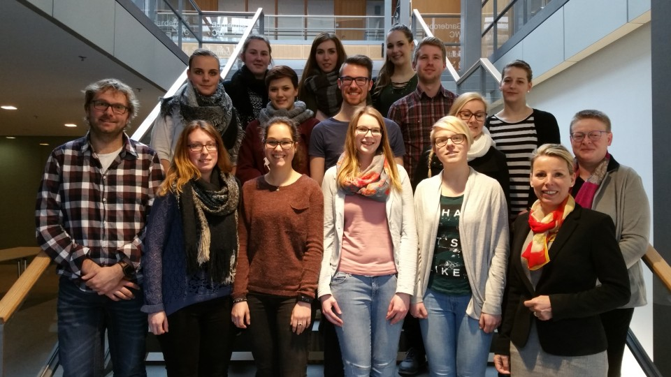 07.03.2017 Besuchergruppe der Fachschule für öffentliche Verwaltung NRW