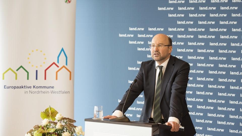 Auszeichnung Europaaktive Kommune 2015