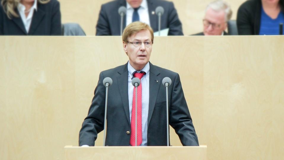 Minister Peter Biesenbach am 2. März 2018 im Bundesrat