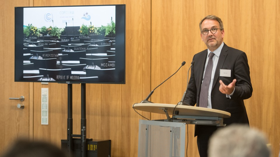 Martin Frick,  Senior Director for Policy and Programme Coordination im UN-Klimasekretariat (UNFCCC)