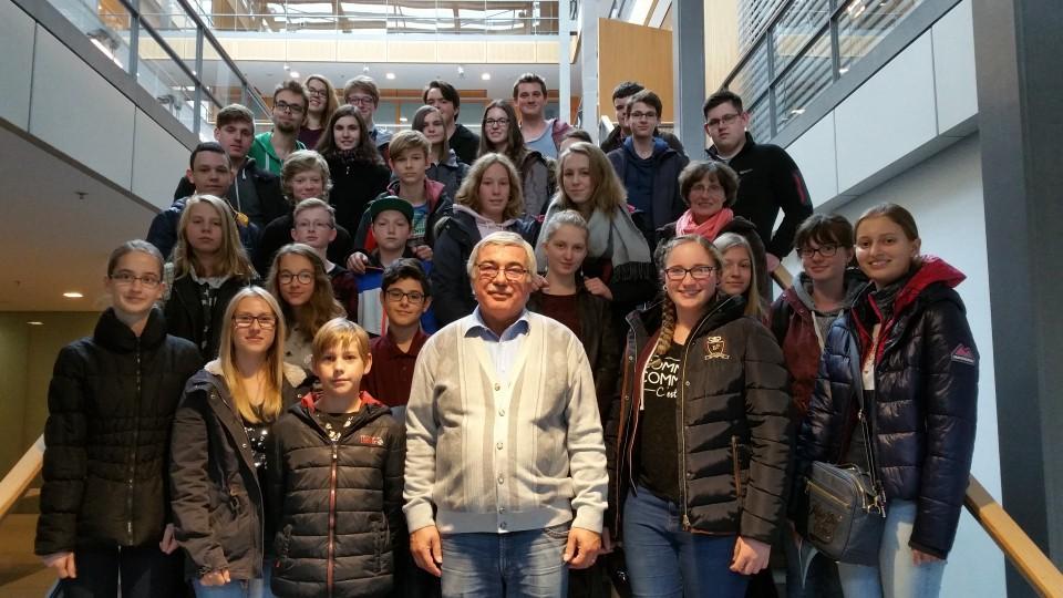 Besuchergruppe Schüler der Big Band des Erftgymnasiums