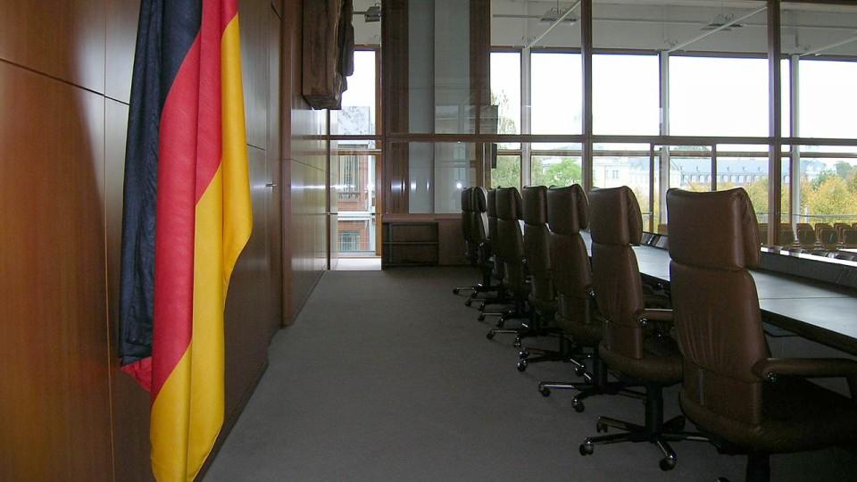 BVerfG Karlsruhe Gerichts Gerichtssaal