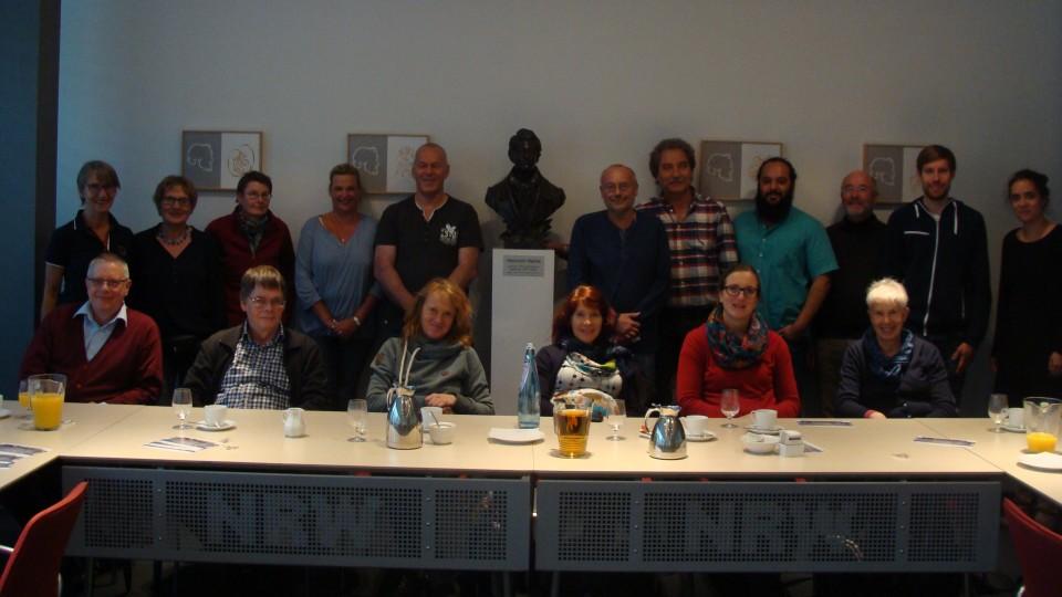 Besuchergruppe Mitglieder des Fördervereins des Köln-Kollegs
