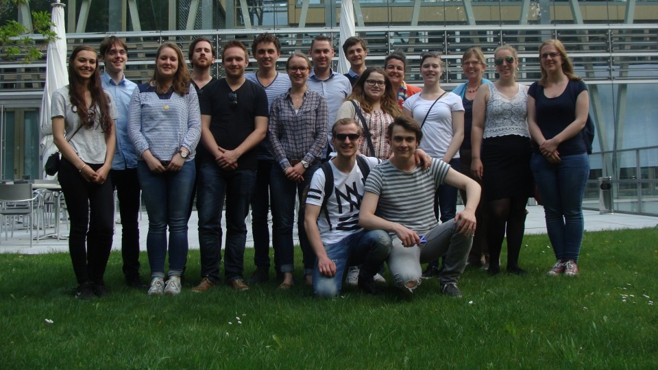 09.05.2016 Besuchergruppe Zuyd University of Applied Sciences aus Maastricht