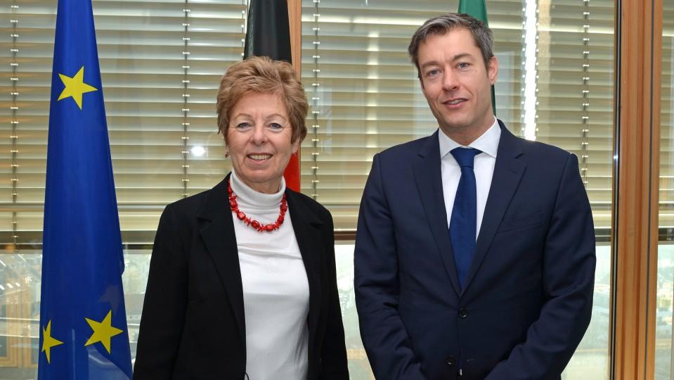 Ministerin Schwall-Düren trifft ungarischen Generalkonsul