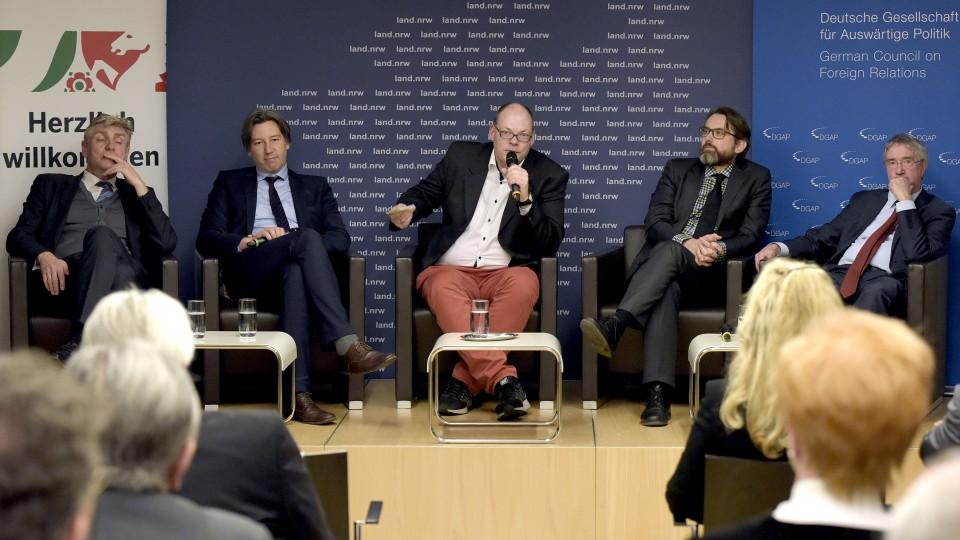 Podiumsdiskussion DGAP Europäische Energiepolitik