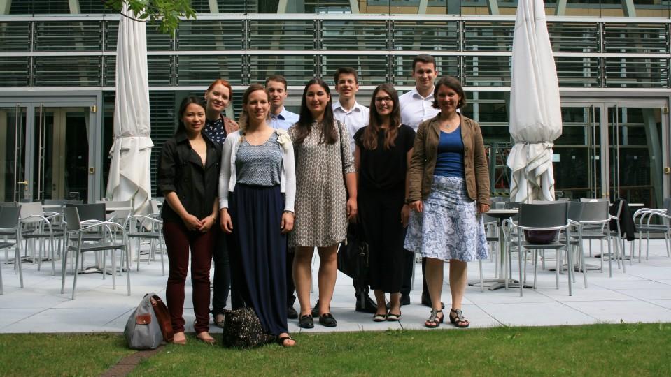 Besuchergruppe Praktikanten des BMZ und dem AA