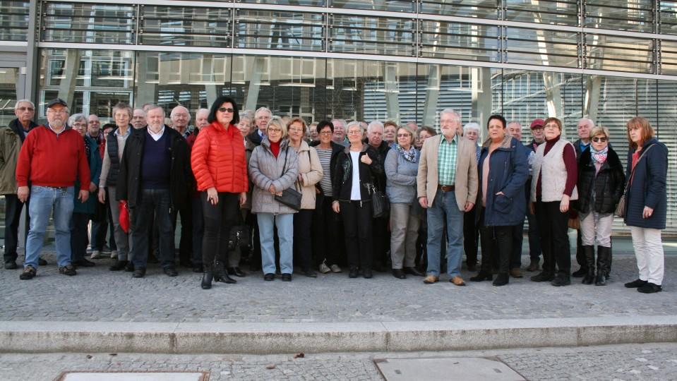 Besuchergruppe des Abgeordneten Dirk Vöpel MdB