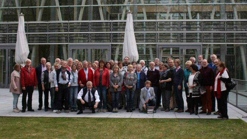 05.04.2017 Besuchergruppe des Abgeordneten Jürgen Coße MdB