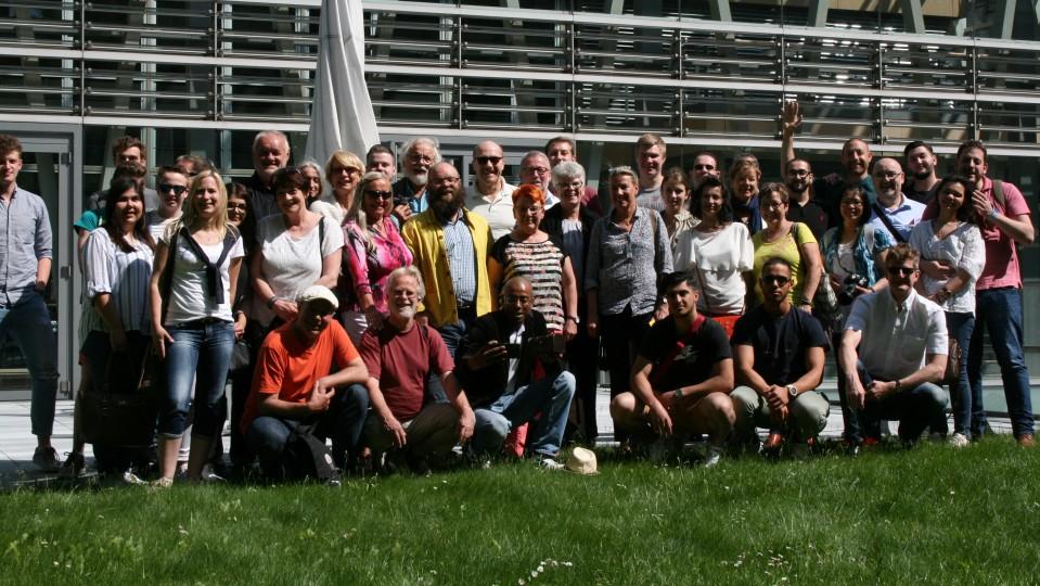 Besuchergruppe der Abgeordneten Katja Dörner MdB