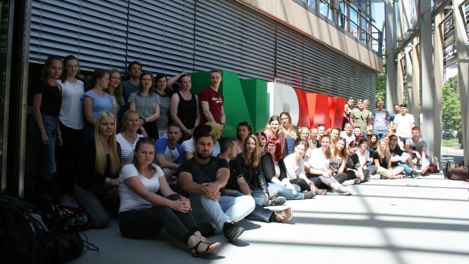 Besuchergruppe Studieninstitut der kommunalen Verwaltung Westfalen