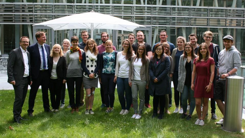 Studierende der Uni Münster