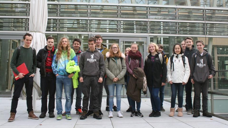11.10.2017 Schüler des Otto-Hahn-Gymnasiums Bensberg