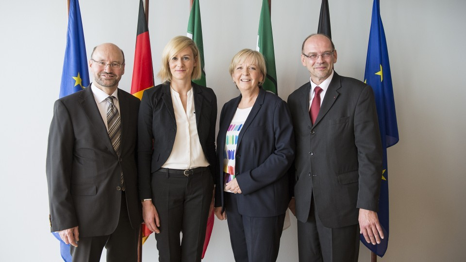 Drei neue Minister