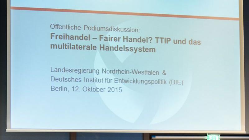 TTIP: Freihandel – Fairer Handel?