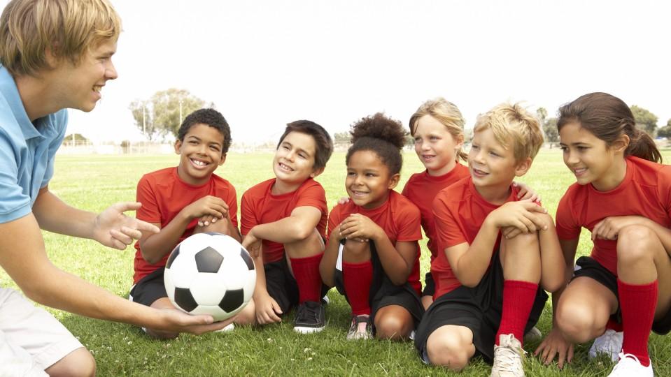 Kinder Fußball Sport