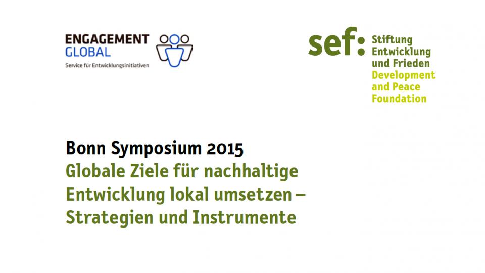 sef: Bonn Symposium 2015 Grafik
