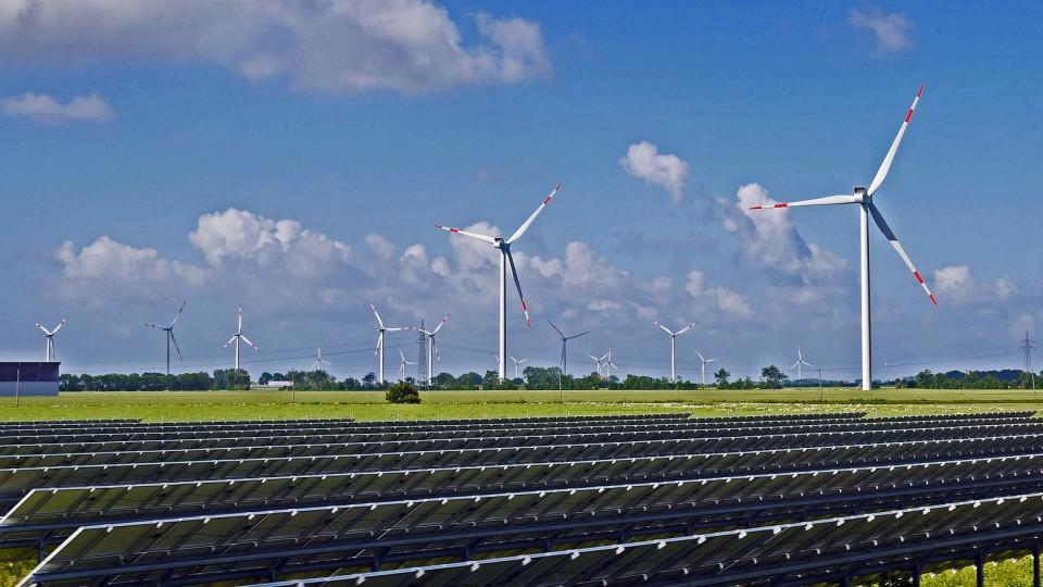 Solarpark Erneuerbare Energie