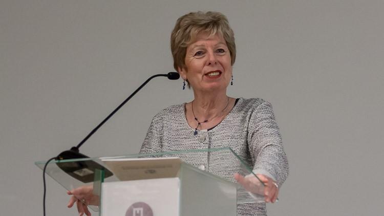 Ministerin Schwall-Düren beim Jugendgipfel in Polen